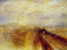 JMW Turner's Rain, Steam and Speed 1844 © Wikimedia Commons