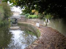 The Kennet and Avon through Sydney Gardens.