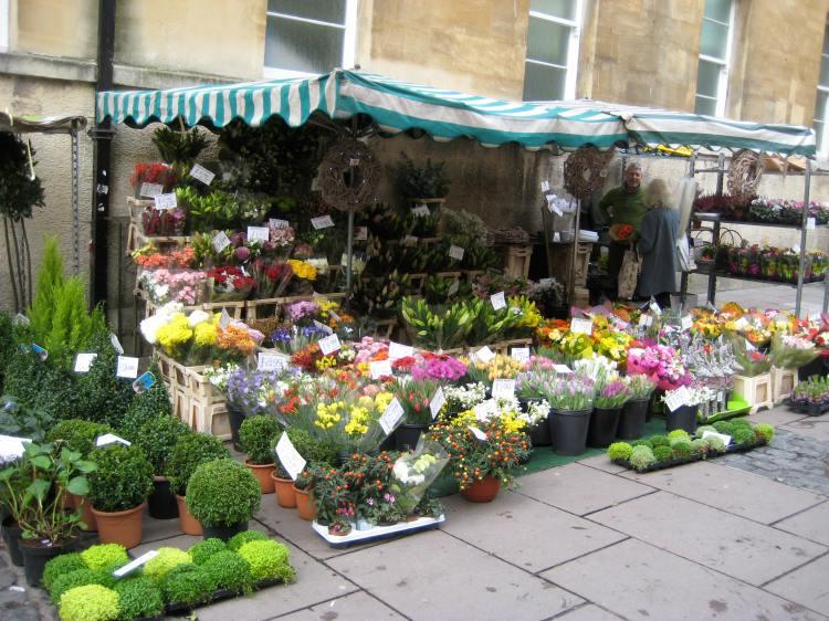 flower market in union street