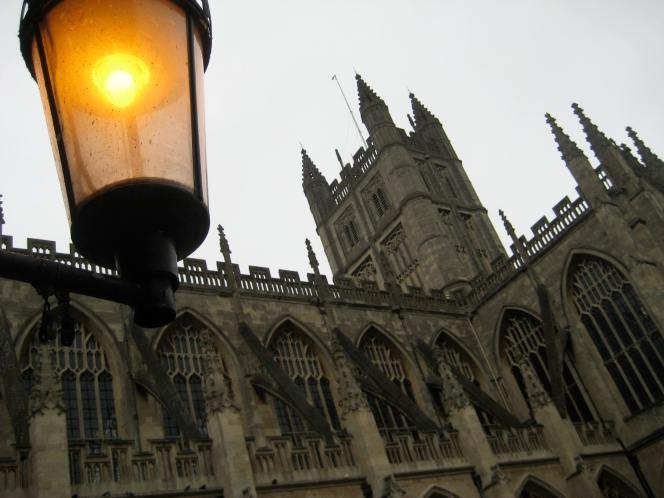 Christmas at Bath Abbey.