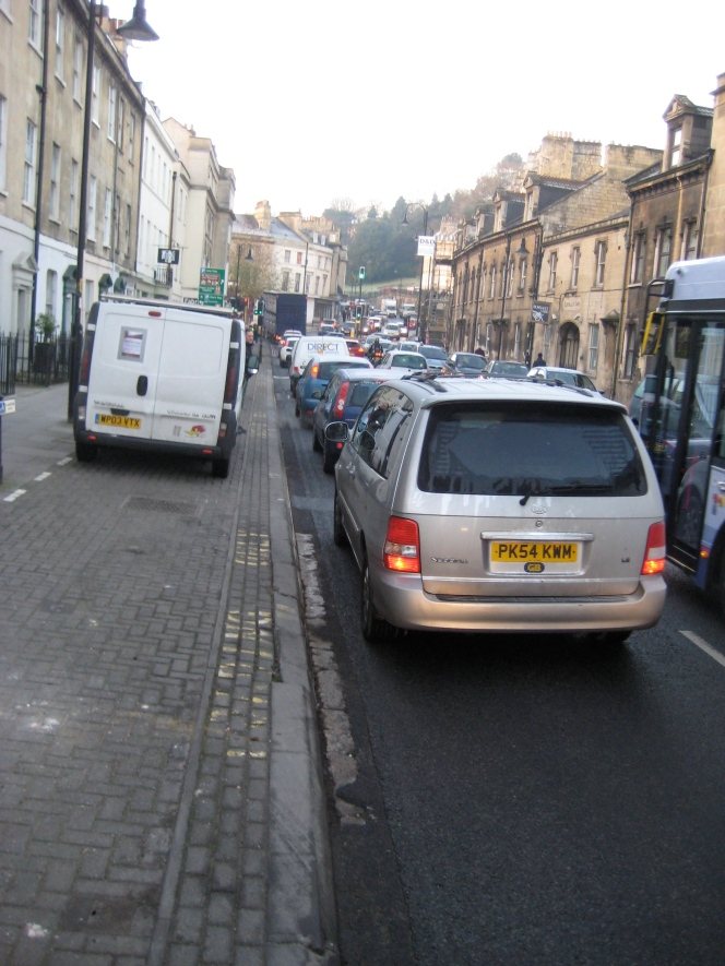 Call for cross-party support to reduce city traffic.