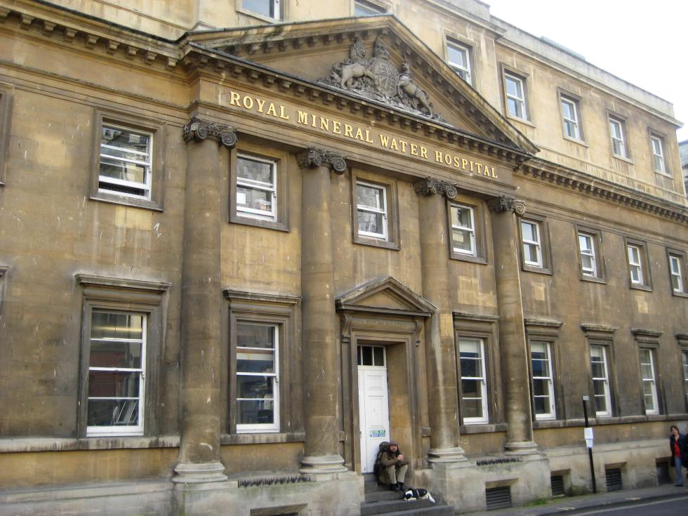 The MIneral Water Hospital in Bath