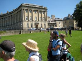 "Bath Preservation Trust's ""Georgian House"" at Number 1 Royal Crescent."