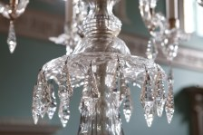 Some of the detail on a chandelier. ©  Heritage Services, B&NES.