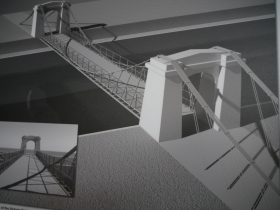 How the Victoria Bridge should look when work is finished.