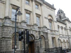 Bath's Guildhall.