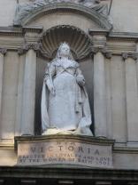 Queen Victoria's niche at the Victoria Art Gallery