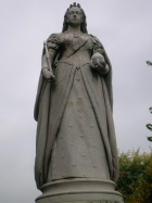 Queen Victoria on Bristol's College Green.