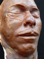 Dillinger's death-mask