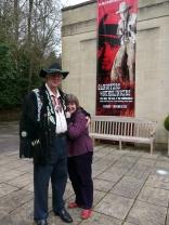 Collector, David Gainsborough Roberts and Curator, Laura Beresford.