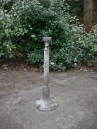 The old drinking fountain.
