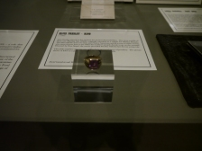 The ring belonging to Elvis Presley.