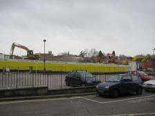 The new town development site.