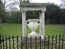 One of two urns that Empress Josephine never got to enjoy!