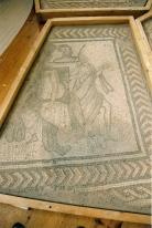 'Achilles on Scythos' mosaic illustration. © Anthony Beeson