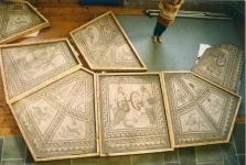 Some of the Keynsham mosaics in store!