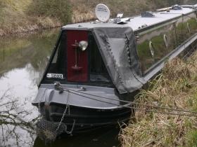 The 'Darth Vader' narrowboat?