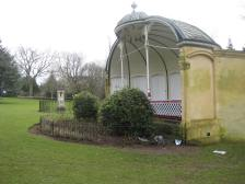 The bandstand in Royal Victoria Park.