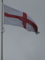 An even bigger flag of England spotted at the Macdonald Bath Spa Hotel.