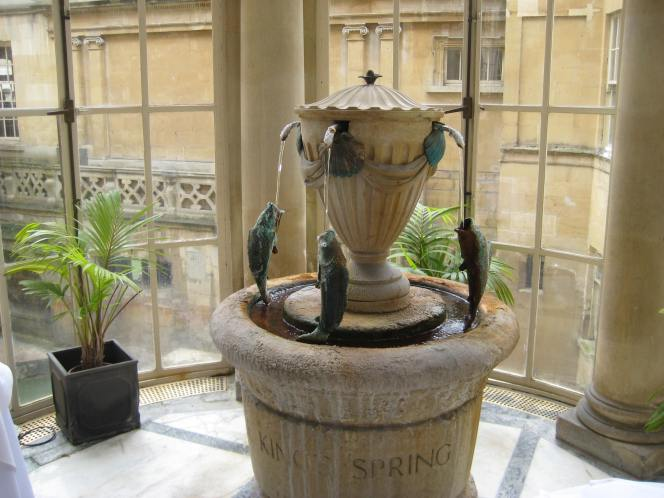 Praise for the man who helped restore Bath's Spa.