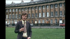 Me on the Royal Crescent lawn in 1971.