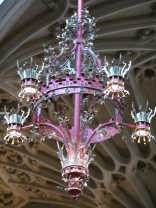 The new look  energy-efficient chandelier.