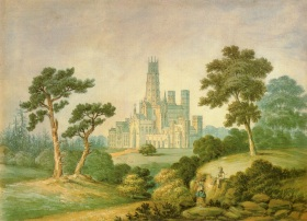 Fonthill Abbey from South West