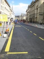 High Street improvements.