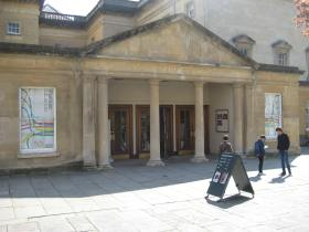 The Fashion Museum occupies the basement at the Assembly Rooms.
