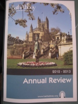 Bath Abbey Annual Review 2012-2013