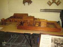 Model of Roman Baths complex.