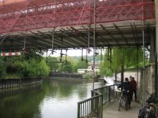 The path under the Halfpenny Bridge