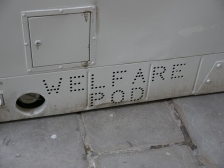 It's a welfare pod!
