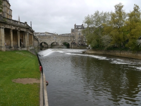 Pulteney Bridge and Weir.