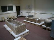 The Romano-British stone coffins