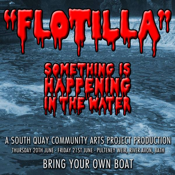 Come float your boat says riverprotestor