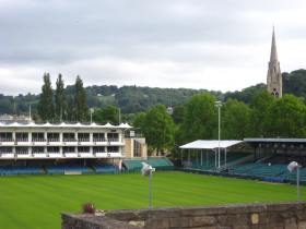 Bath Rugby Ground at the Rec.
