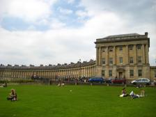 No 1 Royal Crescent is on the right of this image.
