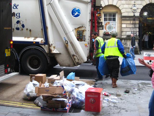 refuse collectors