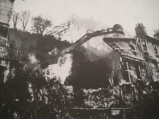 Photograph of demolition underway from 'The Sack of Bath.'