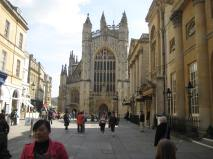 Bath Abbey going​ green.