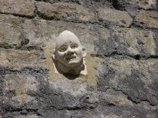 Bath Natural Theatre's 'cone head' man.
