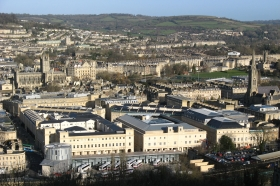 SouthGate_and_Bath_from_Beechen_Cliff