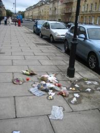 strteet rubbish