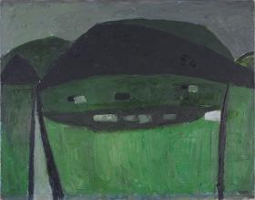 William SCOTT Slagheap Landscape 1953 Arts Council Collection