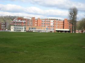 The old Somerdale factory site