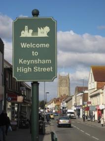 One way trial forKeynsham.