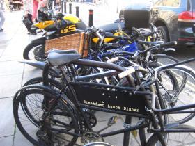 advertising bikes