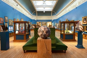 The new look upper gallery at the Victoria Art Gallery in Bath. May 4th 2012. Photographer Freia Turland e:info@ftphotography.co.uk m:07875514528
