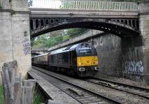 Rail works begin!